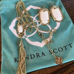 Kendra Scott Earringa & Necklace